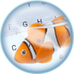 Live Clown Fish Keyboard Theme icon