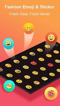 TouchPal Keyboard-Cute Emoji,theme, sticker, GIFs APK screenshot 1