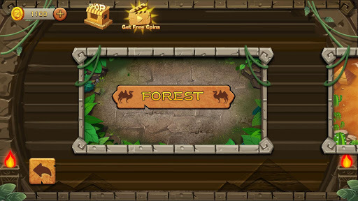 Jungle Marble Blast APK screenshot 1
