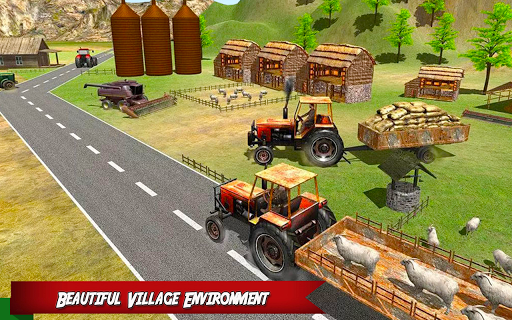 Forage Tractor Farmer Simulator APK screenshot 1
