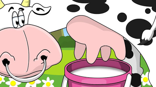 Cow milking APK screenshot 1