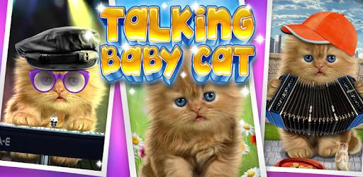Talking baby cat. pc screenshot