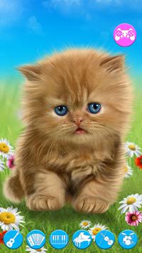 Talking baby cat. APK screenshot 1