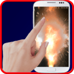 Explosion screen simulator APK icon