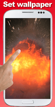 Explosion screen simulator APK screenshot 1