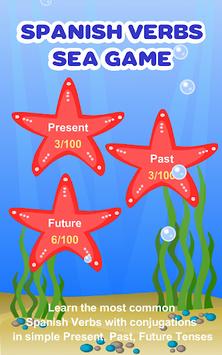 Spanish Verbs Learning Game APK screenshot 1