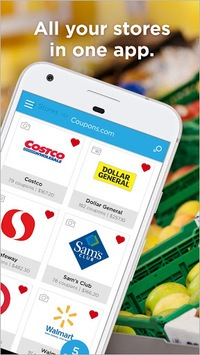 Coupons.com – Grocery Coupons & Cash Back Savings APK screenshot 1
