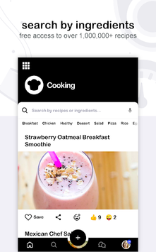 🏆 Craftlog Recipes - daily cooking helper APK screenshot 1
