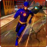 Grand Flash Superhero Rescue - Light Crime City 3D icon