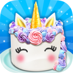 Unicorn Food - Sweet Rainbow Cake Desserts Bakery icon