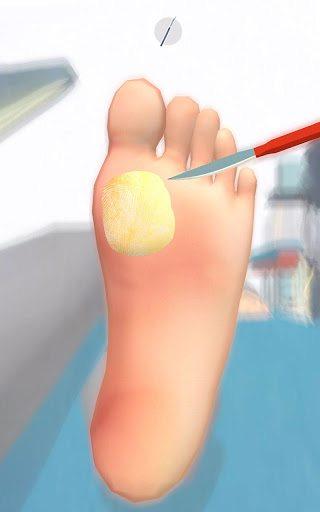 Foot Clinic - ASMR Feet Care APK screenshot 1