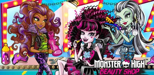Monster High™ Beauty Shop: Fangtastic Fashion Game pc screenshot