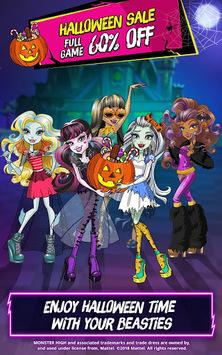 Monster High™ Beauty Shop: Fangtastic Fashion Game APK screenshot 1
