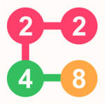 2 For 2: Connect the Numbers Puzzle icon