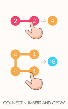 2 For 2: Connect the Numbers Puzzle APK screenshot 1