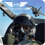 AirCrusader: Jet Fighter Game, Air Combat Command icon