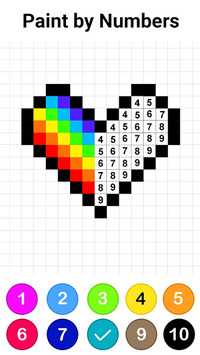 No.Draw - Colors by Number ® APK screenshot 1