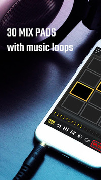 MixPads - Drum pad & DJ Audio Mixer APK screenshot 1