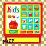 Kids Burger Cash Register icon