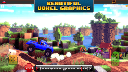 Blocky Roads APK screenshot 1