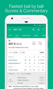 Cricbuzz - Live Cricket Scores & News APK screenshot 1