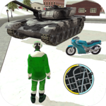 Crime Santa Claus Rope Hero Vice Simulator APK icon