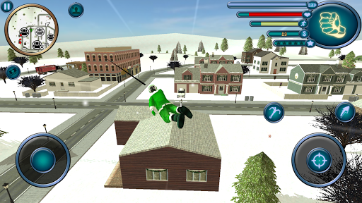 Crime Santa Claus Rope Hero Vice Simulator APK screenshot 1