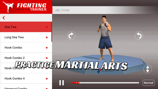 Fighting Trainer APK screenshot 1
