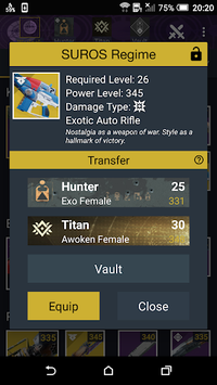 Vault Item Manager for Destiny 2 and 1 APK screenshot 1