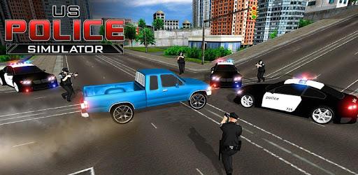 US Police Simulator Crime City Cop Car Driving pc screenshot