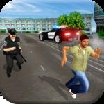 US Police Simulator Crime City Cop Car Driving APK icon