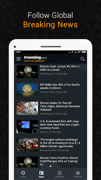 Bitcoin, Ethereum, IOTA Ripple Price & Crypto News APK screenshot 1