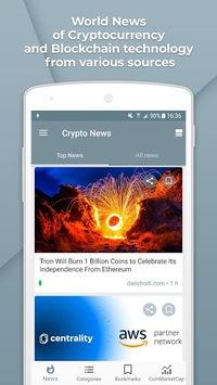 Crypto News APK screenshot 1