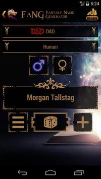 FaNG - Fantasy Name Generator APK screenshot 1