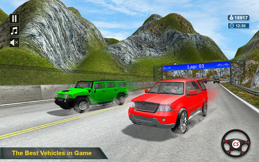 4x4 Jeep Racer APK screenshot 1