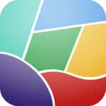 Curved Shape Puzzle icon