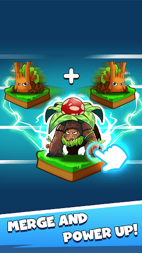 Merge Plants – Zombie Defense APK screenshot 1