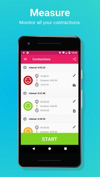 Easy Contraction Timer APK screenshot 1