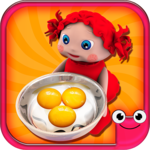 Toddler Kitchen Food Cooking Games-EduKitchen Girl icon
