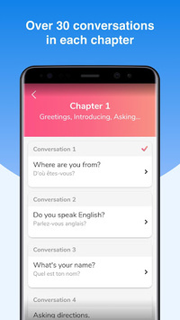 English Conversation Practice - Cudu APK screenshot 1