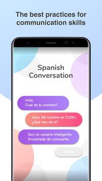 Spanish Conversation Practice - Cudu APK screenshot 1