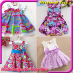 Cute Baby Girl Frock Designs APK icon