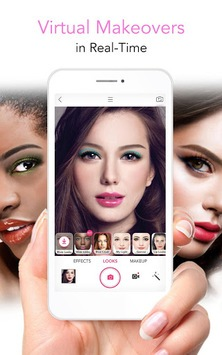 YouCam Makeup - Magic Selfie Makeovers APK screenshot 1