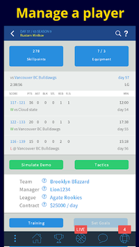 CyberDunk 2 Basketball Manager apk screenshot 1