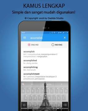 Indonesia - English Dictionary APK screenshot 1