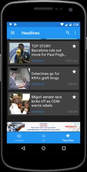 Daily Nation APK screenshot 1