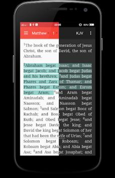 NIV Bible Offline free APK screenshot 1
