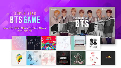 SuperStar BTS APK screenshot 1