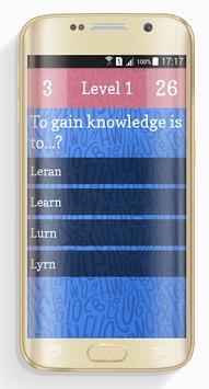 Ultimate English Spelling Quiz APK screenshot 1