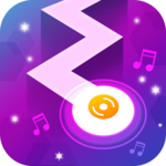 Tap Tap Dancing - Happy Zigzag Music Line icon